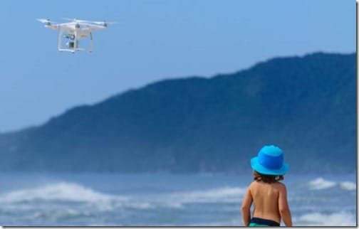 Keep The Drone Away From People: