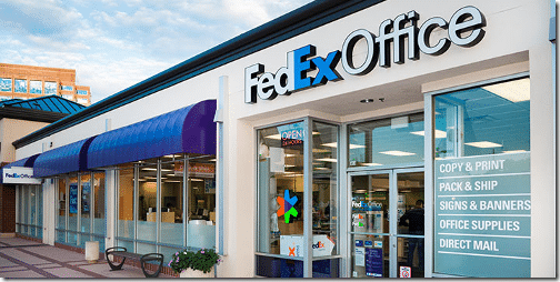 FedEx Office print and ship center