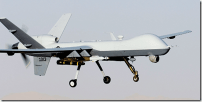 military drones work